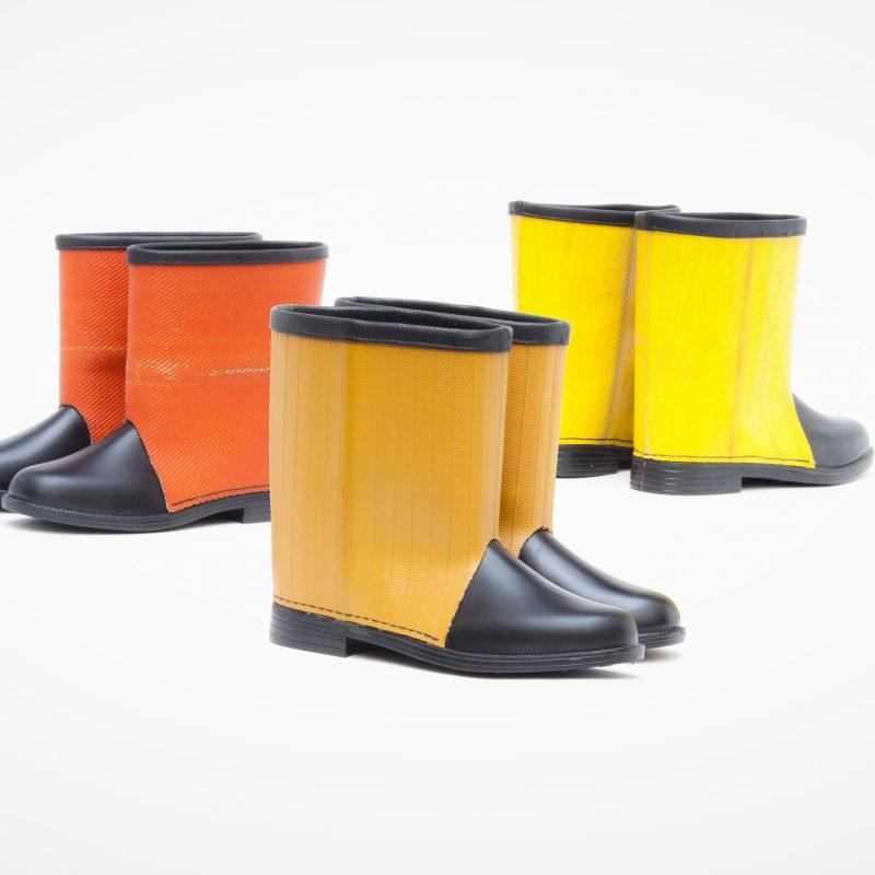 Fire Hose Boots
